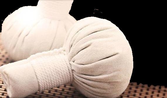 Thaise kruidenstempel massage